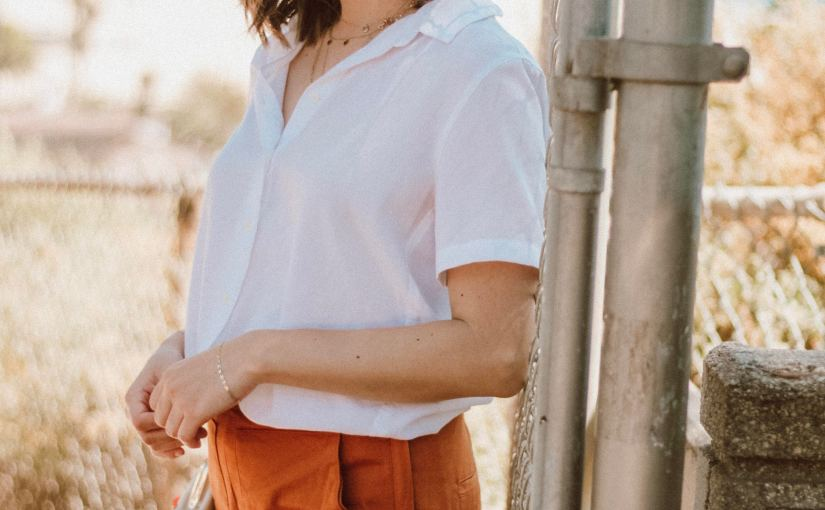 How to: Bold Pants & MinimalStyle