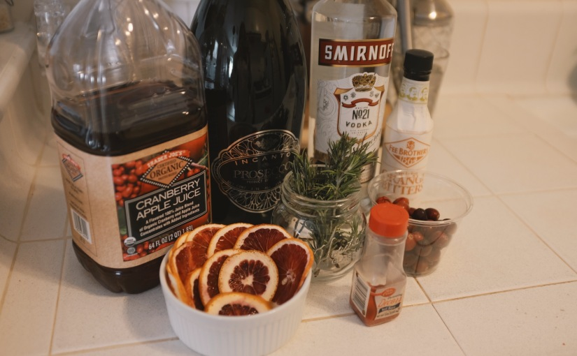 Easy Holiday Cocktail